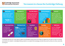 Ten reasons to choose Cambridge