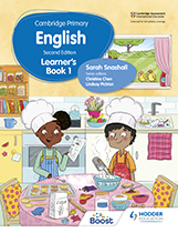 Cambridge Primary English (Hodder) textbook cover