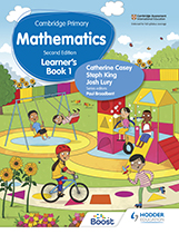 Cambridge Primary Mathematics (Second edition) (Hodder) textbook cover