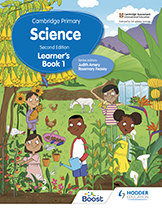 Cambridge Primary Science (Second edition) (Hodder) textbook cover