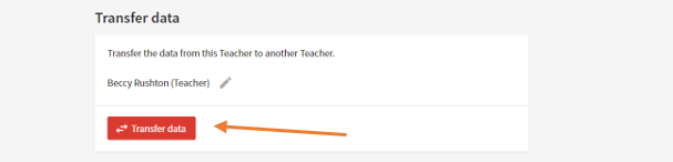 4.3 Transfer data from one teacher to another teacher screenshot