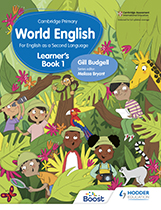 Cambridge Primary World English (Hodder) textbook cover