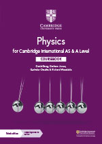 Cambridge International AS & A Level Physics front cover (Cambridge University Press)