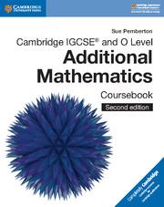 Cambridge IGCSE Mathematics - Additional (0606)