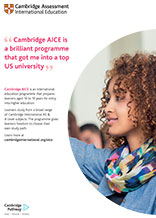 Cambridge AICE poster