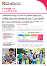 Cambridge AICE factsheet