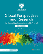 Global Perspectives and Research for Cambridge International AS & A Level (Second edition) (Cambridge University Press) front cover