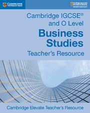 Cambridge IGCSE Business Studies (0450)