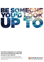 Be someone poster