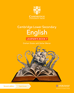 Cambridge Lower Secondary English (Second edition) (Cambridge University Press) textbook cover