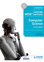 Cambridge IGCSE and O Level Computer Science (Hodder) front cover