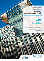 Cambridge International AS & A Level Law (Second edition) (Hodder)
