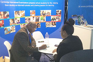 Cambridge at EduWeek 2017 in Johannesburg