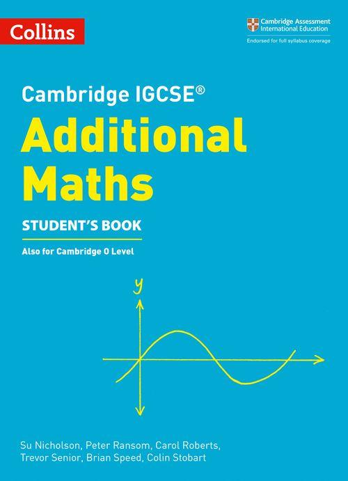 Cambridge IGCSE Mathematics - Additional (0606)