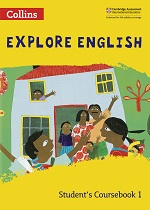 Collins Explore English textbook cover