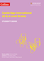 Cambridge International AS & A Level Drama front cover (Collins)