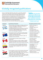 Global recognition factsheet