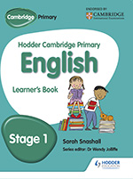 Hodder Cambridge Primary English cover