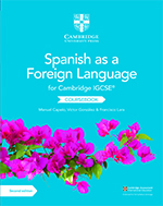 Cambridge IGCSE Spanish front cover (Cambridge University Press)