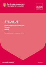 Old look syllabus cover