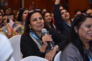 Delegate attending the Pakistan Schools Conference, 2019