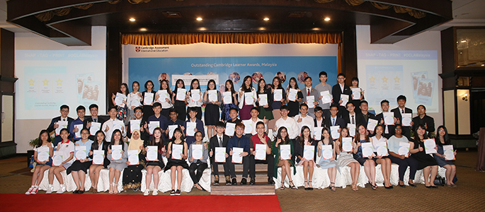 Recognising Malaysian students for their excellence in the