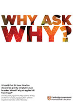 Why ask why poster