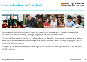 Cambridge Teacher Standards