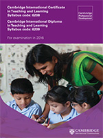 Teaching and learning syllabus cover