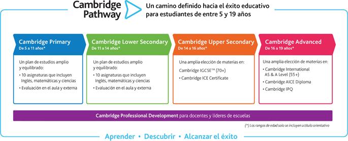Cambridge pathway diagram